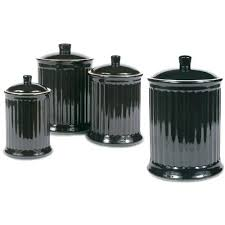 buy kitchen canisters black canister set and black canister set pretty canister sets black