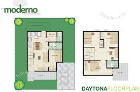 charming modern house design with floor plan in the philippines
