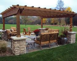 Patio Designs With Pergola by Stand Alone Traditional Patio Pergola Design Pictures Remodel