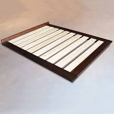 Modern Bed Frames Low Wooden Modern Bed Frame By Get Laid Beds Notonthehighstreet Com
