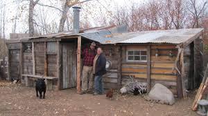 how to build a cabin house idaho hillbillies homestead 43 building a 50 dollar cabin youtube