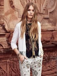 moda boho moda primavera verano 2017 rapsodia vestidos túnicas sacos y