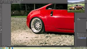 cars nissan photoshop modifying cars nissan 350z youtube
