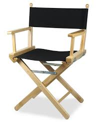 chaise metteur en sc ne b b regista p fauteuil de metteur en scène en bois couleur naturelle et