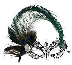 peacock masquerade masks peacock feather metal laser cut masquerade mask