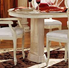 Italian Lacquer Dining Room Furniture Miraculous Ivory Lacquer Finish Royal Classic Dining Room By Esf