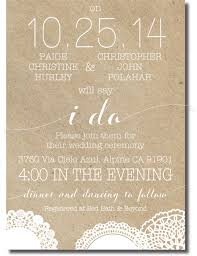 one sided one sided wedding invitations