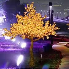 tga 34 2 8m height low price led simulation tree led lighted