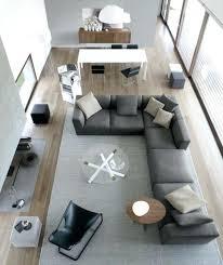 deco avec canapé gris dacco salon 1 amenagement salon 20m2 longueur canape gris fonce d