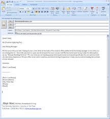 perfect email cover letter for job application samples 25 on