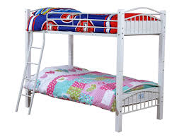 White Metal Bunk Bed White Metal Bunk Beds Syrup Denver Decor Trends White