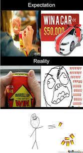 Roll Up Meme - playing tim horton s roll up the rim expectation vs reality by
