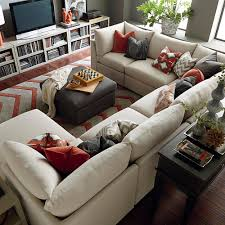 Family Room With Sectional Sofa Pillows For An Furniture Sectional Cabinets Beds Sofas