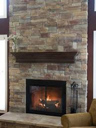 diy stacked stone fireplace ideas for fireplace hearth stone 6367