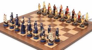 pirates u0026 royal navy theme chess set package the chess store