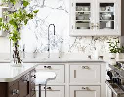 Marble Slab Backsplashes - Marble backsplashes