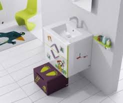 Kids Bathroom Colors Colorful Ideas To Visually Enlarge Your Small Bathroom