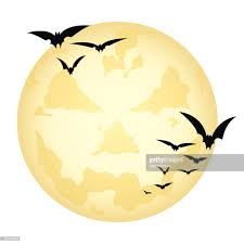 spooky clip art spooky halloween moon vector art getty images