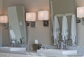 white double vanity transitional bathroom belmont design group