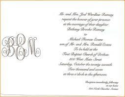 wedding invitations letter 5 invitation letter of wedding pandora squared