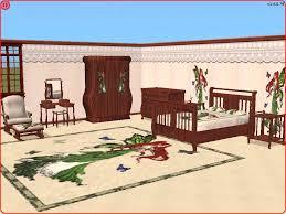 mod the sims emerald fairy bedroom set recolour of snowstorm u0027s
