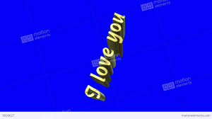 Blue Flag With Stars Rotating 3d Text