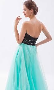 black and teal organza long princess prom dresses ksp264 ksp264