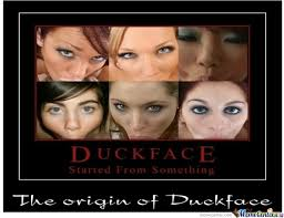 Shots Fired Meme Origin - the origin of duckface by going2diesooner meme center