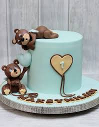 free photo teddy bear cake birthday free image on pixabay