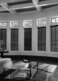 2 Faux Wood Blinds Ready Made 2