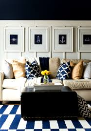 Yellow Living Room Ideas by Spring Decor Ideas In Navy And Yellow It All Started With Paint