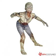 Zombie Halloween Costume Kids Morphsuits Zombie Kids Monster Horror Scary Creepy Halloween