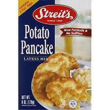 latke mix streit s potato pancake latkes mix 6 oz pack of 12 walmart