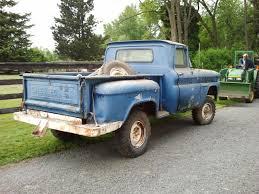 Classic Chevrolet 4x4 Trucks - 1960 chevy k 10 1 2 ton 4x4 shortbed step side battlefind com