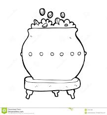 cartoon pot of gold royalty free stock photos image 37022188