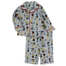 peanuts toddler boys pajamas