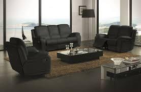 auchan canapé ensemble relax assise et dossier cuir 3 2 canapé auchan