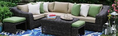 amazon com ae outdoor williams 8 piece sectional with sunbrella