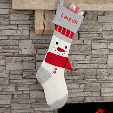 personalized knit snowman gifts