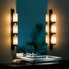 lighting design ideas chrome vertical bathroom lights in led