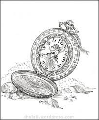 creativity carnival the pocket watch shafali u0027s caricatures