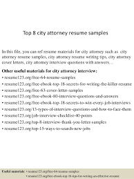 Top   city attorney resume samples In this file  you can ref resume materials for
