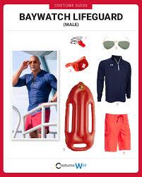Baywatch Halloween Costume Dress Baywatch Lifeguard Male Costume Halloween