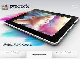procreate for android pro create iphone apps android web design inspiration