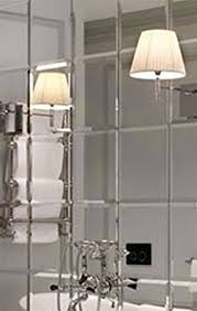 mirror tiles for bathroom walls peachy mirror tiles for walls plus my furniture 6 x large 30cm