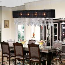 Dining Table Chandeliers Contemporary Mesmerizing Rectangle Dining Room Chandeliers Rectangular Light