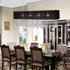 mesmerizing rectangle dining room chandeliers rectangular light