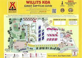 707 Area Code Map Koa Campgrounds California Map California Map