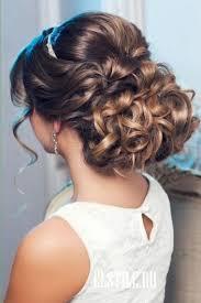 chignon mariage coiffure mariage chignon bouclé idées pour la maison