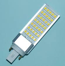 g24 led 7w pl lamp 4 pin configuration